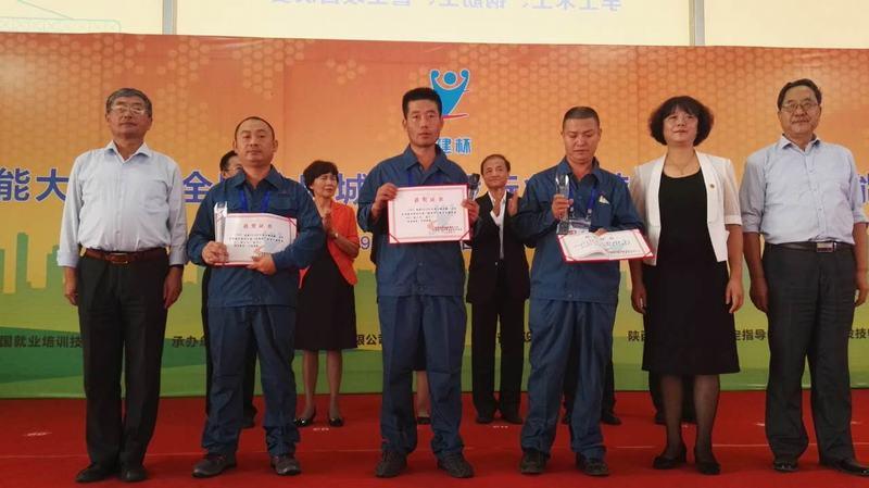 德州天元集团张建国同志荣获全国技能大赛季军