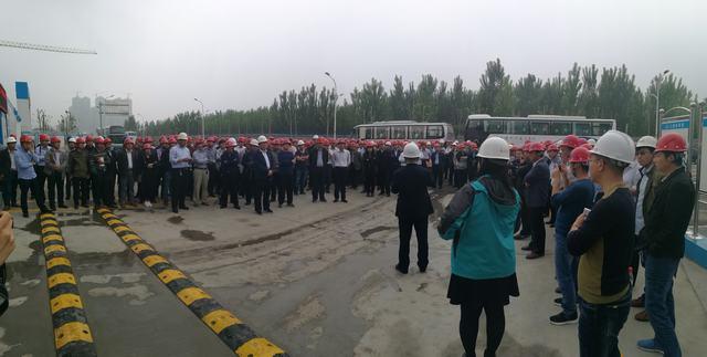 我市组织人员赴淄博观摩建筑施工质量安全示范工地